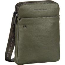 Piquadro Notebooktasche / Tablet Black Square 3978 Verde Oliva