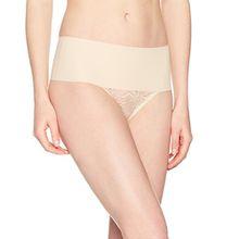 Spanx Damen Taillenslip Undie-Tectableace Thong, Beige (Soft Nude 0), 42 (Herstellergröße: Large)