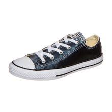 CONVERSE Chuck Taylor All Star Metallic OX Sneaker Kinder blau
