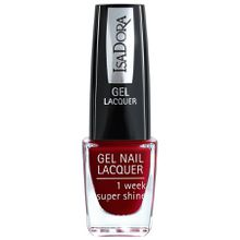 Isadora Gel Nail Lacquer Rebel Red Nagellack 6.0 ml