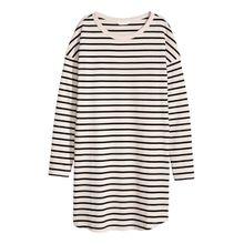H & M - Langarmshirt aus Jersey - Beige - Damen