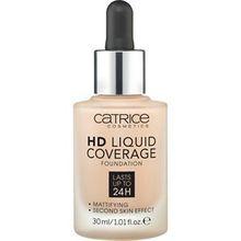 Catrice Teint Make-up HD Liquid Coverage Foundation Nr. 080 Caramel Beige 30 ml