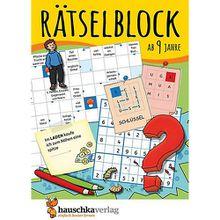 Buch - Rätselblock ab 9 Jahre
