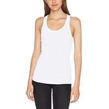 Urban Classics Damen Sport Tank Top Ladies Jersey Tanktop, Weiß (White 220), Large