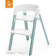 STOKKE® Steps Stuhl mit weißem Sitz