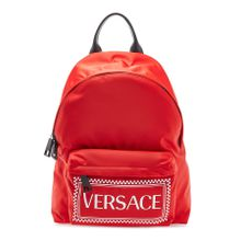 Versace Rucksack aus Nylon mit 90ies Vintage-Logo
