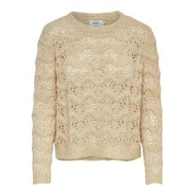 ONLY Strickpullover hellbeige