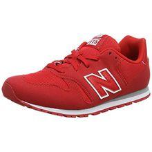 New Balance Unisex-Kinder Kj373y Sneaker, Rot (Red), 38 EU