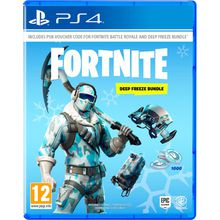 FORTNITE Deep Freeze Bundle PlayStation 4