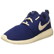 Nike Damen Wmns Roshe One Sneakers, Blau (Binary Blue/Oatmeal/Oatmeal), 38.5 EU