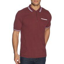 Mishumo Poloshirt Regular Fit in rot für Herren