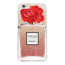 Iphoria Liquid Case Parfum au Portable Shiny Red Rose für Apple IPhone 7