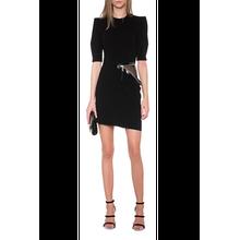 Zipper Dress Black