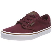 Vans Unisex-Kinder Atwood Sneaker, Rot (S18 C/Yellow), 38 EU
