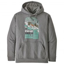 Patagonia - Fed Up with Melt Down Uprisal Hoody - Hoodie Gr L;M;S;XL;XS;XXL grau;blau/schwarz