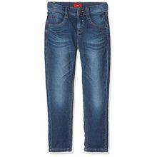 s.Oliver Jungen Jeans 63.709.71.3001, Blau (Blue Denim Stretch 56Z2), 92 (Herstellergröße: 92/REG)