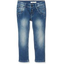 NAME IT Baby-Jungen Jeans Nittalk Reg/Slim Dnm Pant Nmt Noos, Blau (Medium Blue Denim), 104