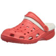 Playshoes EVA-Clog mit Warmfutter 171728, Unisex - Kinder Clogs & Pantoletten, Rot (rot 8), EU 28/29