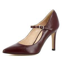 Evita Shoes Damen Pumps ILARIA Klassische Pumps bordeaux Damen
