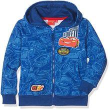 Disney Jungen Kapuzen-Sweatshirt 824, Bleu (Bleu), 6 Jahre