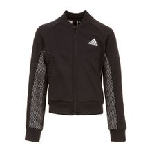 ADIDAS PERFORMANCE Trainingsjacke schwarz / weiß