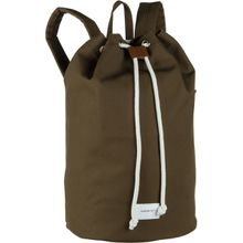 Sandqvist Laptoprucksack Evert Drawstring Bucket Backpack Olive (18 Liter)