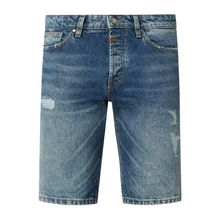 Slim Fit Jeansshorts aus Baumwolle Modell 'Kato'