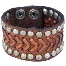 Campomaggi Armband Leder 20 cm braun Damen
