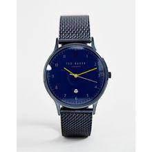 Ted Baker - Ethan - Armbanduhr mit Netzband - Blau
