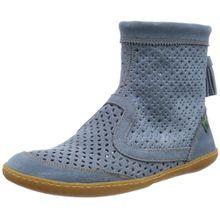 El Naturalista S.A N262 Lux Suede El Viajero, Damen Kurzschaft Stiefel, Blau (Vaquero), 38 EU