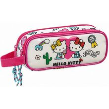 Schlampermäppchen Hello Kitty Girl Gang weiß Mädchen Kinder
