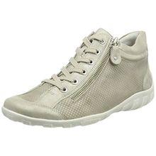 Remonte Damen R3487 Hohe Sneaker, Beige (Muschel/Steel/Alloy), 41 EU