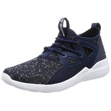 Reebok Damen Cardio Motion Sneaker Low Hals, Blau (Blu Collegiate Navy/White), 38.5 EU
