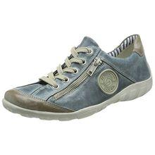 Remonte r3408, Damen Sneakers, Blau (steel/royal/15), 42 EU