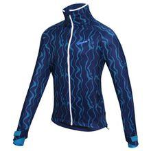 Qloom - Watson Lake Jacket - Fahrradjacke Gr M blau