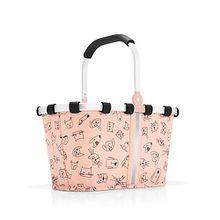 Einkaufskörbe rosa