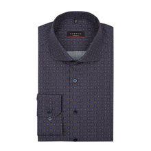 Regular Fit Business-Hemd aus Baumwolle mit extra langem Arm