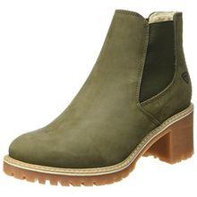 Tamaris Damen 25447 Chelsea Boots, Grün (Olive), 37 EU