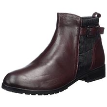 Caprice Damen 25350 Chelsea Boots, Rot (Bord.Nap.Multi), 40.5 EU