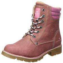 TOM TAILOR Mädchen 3770802 Stiefel, Pink (Rose), 38 EU