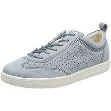 Ecco Damen Soft 1 Sneaker, Blau (Trooper), 38 EU