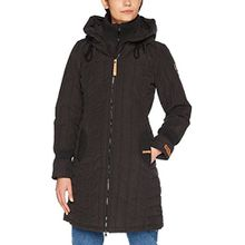 khujo Damen Jacke Jerry Prime Retro Jacket, Schwarz (Black 200), Small