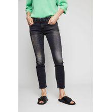 R13 Jeans 'Kate-Skinny' im Destroyed-Look Schwarz