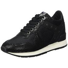Hilfiger Denim Damen L1385ADY 4Z2 Sneaker, Schwarz (Black), 40 EU