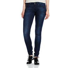 Hilfiger Denim Damen Skinny Jeanshose Low rise Sophie DAST, Gr. W29/L30, Blau (DARK STRETCH 989)