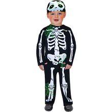 Kostüm Skeleton Toddler, 2-tlg.