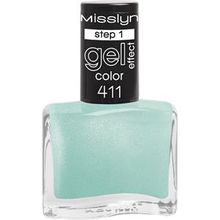 Misslyn Nägel Nagellack Gel Effect Color Nr. 205 Burning Desire 10 ml