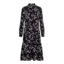 VERO MODA Kleid schwarz / weiß