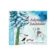 Adventskalender zum Hören und Staunen, Audio-CD Hörbuch