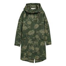 H & M - Parka aus Baumwolle - Green - Damen